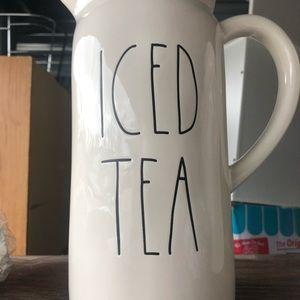 Rae Dunn iced tea pitcher